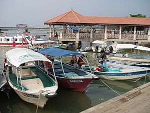 Kuala Besut Harbour and Jetty