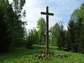 Kudoriškis. Vysk. T. Matulionio kryžius.JPG