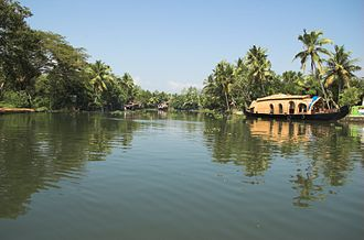 Kerala backwaters - House Boat on Vembanad lake