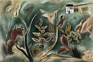 Yasuo Kuniyoshi - Dream (1922), Bridgestone Museum of Art, Tokyo