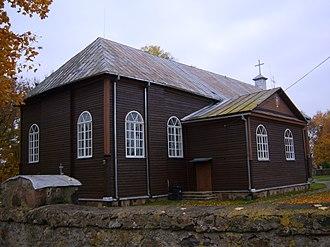 Kurkliai - Image: Kurkliai, bažnyčia