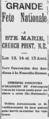L'Évangéline annonce Pointe-de-l'Église 1890.PNG