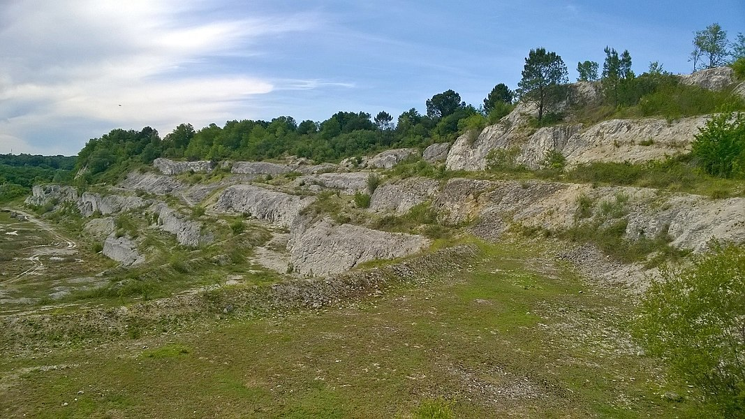 The former quarry (now a protected landscape) of Tercis-les-Bains (Southwestern France)