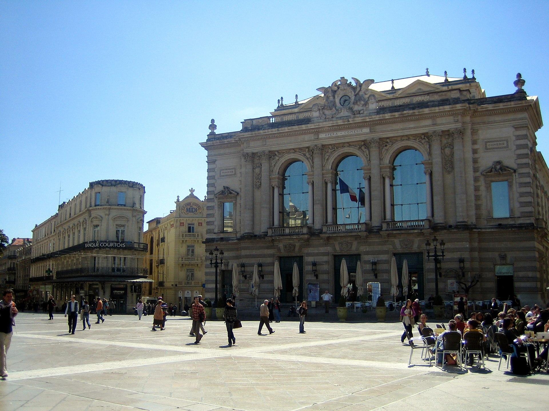 Montpellier wikivoyage guida turistica di viaggio for Montpellier citta