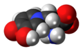 L-Mimosine zwitterion spacefill.png