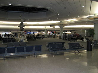 Louis Armstrong New Orleans International Airport - West Terminal, completed in 1996