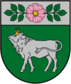 Coat of arms of Vārkava Municipality