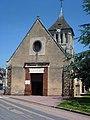 La Ferrière-sur-Risle (Eure, Fr) église Saint-Georges, entrée.JPG