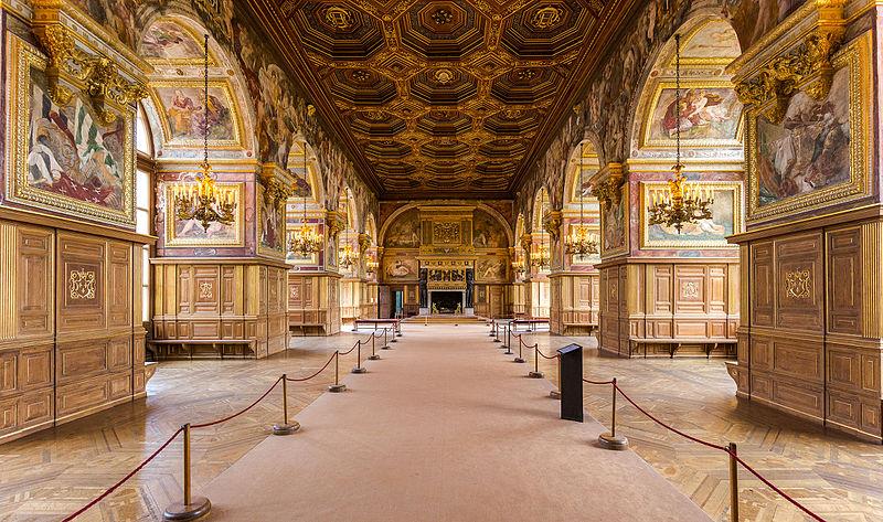 Château - Renaissance - Salle de Bal - Fontainebleau - SchoolMouv - Histoire - CM1