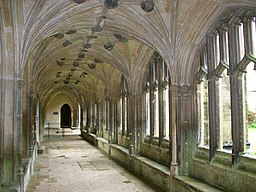 Lacock Abbey, cloisters