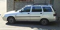Lada 2111 (silver colored) in Kyiv.jpg