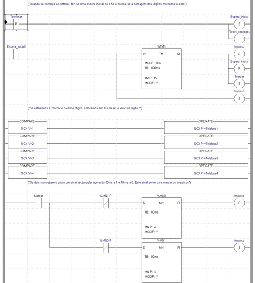 Ladder logic wikiwand part of a ladder diagram including contacts and coils compares timers and monostable ccuart Images