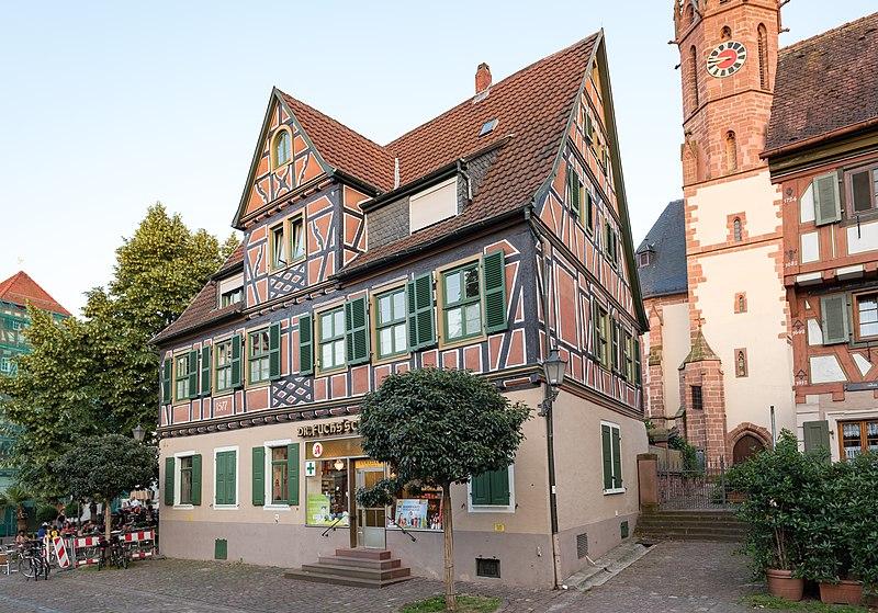 File:Ladenburg, Marktplatz 7 20170601 001.jpg