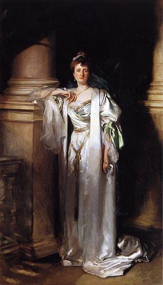 Francis Fane, 12th Earl of Westmorland - Lady Margaret Spicer, John Singer Sargent, c. 1906