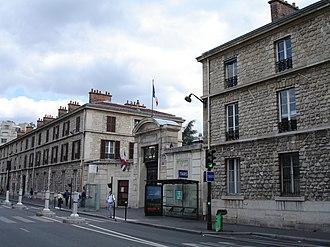 Necker-Enfants Malades Hospital - Image: Laennec memorial, Necker Hospital, Paris 1