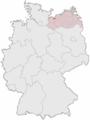 Lage der kreisfreien Stadt Wismar in Deutschland.png