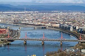 Budapest Museum Quarter -  Aerial picture of Budapest