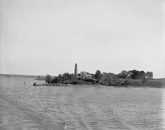 Crown Point, New York - Image: Lake Champlain, N.Y., Crown Point Light