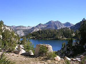 Sierra National Forest - Lake of the Lone Indian, John Muir Wilderness