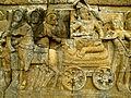 Lalitavistara - 080 W-56, Siddhartha sees an Old Man, Siddhartha in his Chariot (detail) (8598263339).jpg