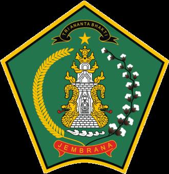 Jembrana Regency - Image: Lambang Kab Jembrana