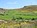 Lameiros and turbines in Parque Natural de Montesinho Porto Furado trail (5733158910).jpg