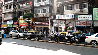 Grant Road - Lamington Road, the busiest electronic street of the city of Bombay