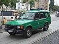 Land Rover Discovery SeriesII 1998-2004 Bundespolizei frontleft 2009-08-21 A.jpg