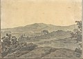 Landscape with Distant Buildings (Smaller Italian Sketchbook, leaf 28 recto) MET DP269437.jpg