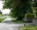 Lane passing West Foscote Farm - geograph.org.uk - 1310576.jpg