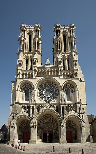 Laon Cathedral - West facade