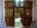 Laon (02), cathédrale Notre-Dame, croisillon sud, bas-côté est, clôture de chapelle.jpg