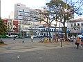 Largo do Rosário,com o Éden Bar ao fundo à direita e Giovannetti à esquerda. - panoramio.jpg