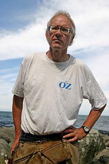 Lars Vilks Swedish artist