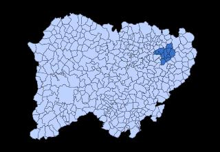 Las Villas, Salamanca Comarca in Castile and León, Spain