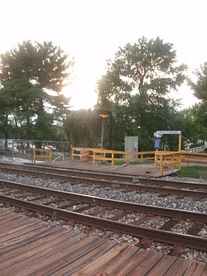 Laurel Racetrack Station.JPG