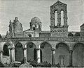 Lecce parte laterale del tempio dei Santi Nicolò e Cataldo xilografia di Mantellio.jpg