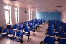 lecture room in future university.
