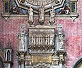 Left transept of Santi Giovanni e Paolo (Venice) - Tomb of Doge Antonio Venier († 1400), attributed to the brothers Dalle Massegne.jpg