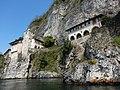 Leggiuno - Eremo di Santa Caterina del Sasso - Lago Maggiore - panoramio (9).jpg