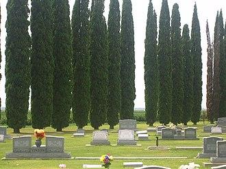 Tensas Parish, Louisiana - Legion Memorial Cemetery is located north of Newellton off Louisiana Highway 605.