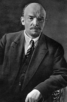 Vladimir Lenin in 1920. He was the leading figure of the Communist movement until his death in 1924.