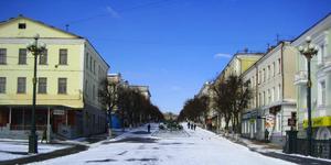 Вид со стороны Александровского моста