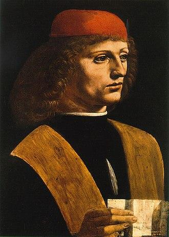 Biblioteca Ambrosiana - Portrait of a Musician by Leonardo da Vinci