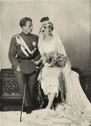 Leopold III of Belgium - Leopold of Belgium and Astrid of Sweden on their wedding day.