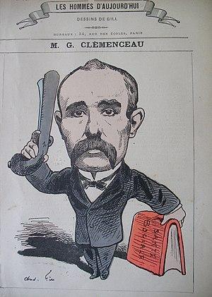 Conférence Molé-Tocqueville - Image: Les Hommes N 30 Georges Clemenceau