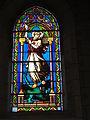 Lesperon (Landes) église, vitrail 03.JPG