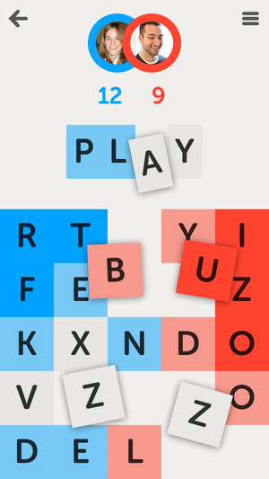 IOS 7 - Image: Letterpress screenshot