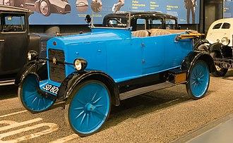 Leyland Motors - A 1924 Leyland Trojan tourer