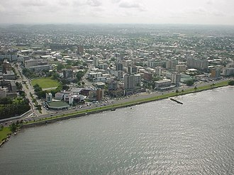 Libreville - Aerial view of Libreville